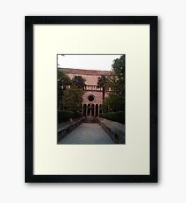 tranquil and calm  Framed Print