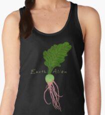 Earth Alien Watermelon Radish Women's Tank Top