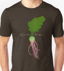 Earth Alien Watermelon Radish Unisex T-Shirt
