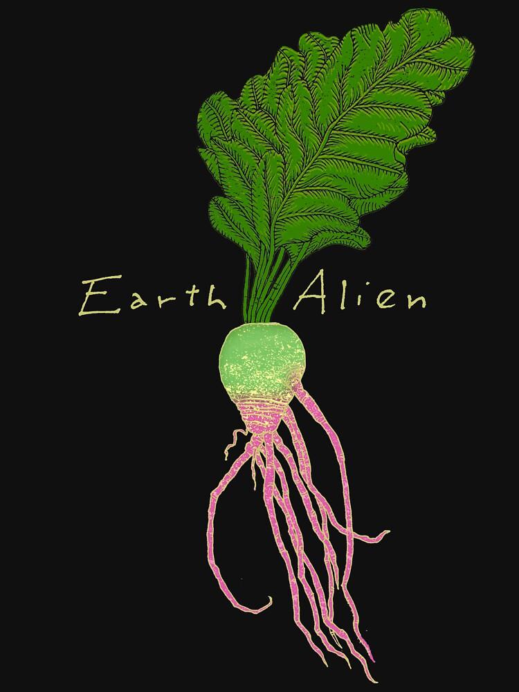 Earth Alien Watermelon Radish by SusanSanford