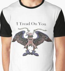 Camiseta gráfica Pisada sobre ti
