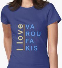 """""""I love Varoufakis"""" slogan  T-Shirt"""