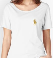 yellow grim reaper polo Women's Relaxed Fit T-Shirt