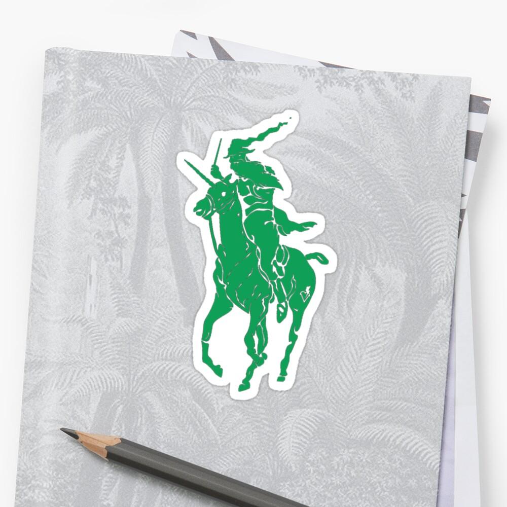 wizard polo Stickers