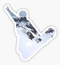 Snowboarder Sticker