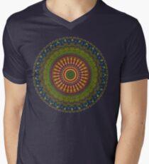 Bright Blessings Mandala  Men's V-Neck T-Shirt