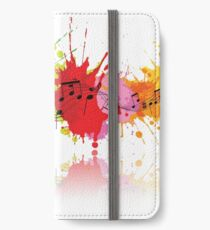 Music Colors iPhone Wallet/Case/Skin