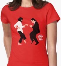 Camiseta entallada para mujer Nunca se sabe