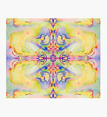 Eye-Catching Vibrant Spirit Ink Design in Vibrant Colors Photographic Print