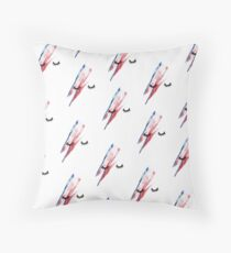 Lady Stardust Throw Pillow