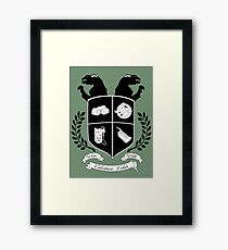 Ghostbusters Family Crest (Green) Framed Print
