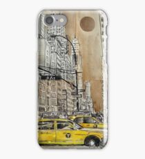 5th avenue study drawing iPhone Case/Skin