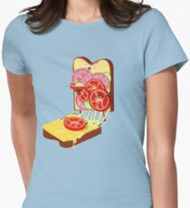 The accident Womens Fitted T-Shirt