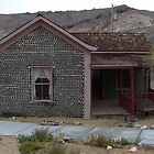 Bottle House, Rhyolite, Nye County, NV by Rebel Kreklow