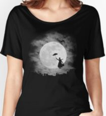 Mary poppins moon Women's Relaxed Fit T-Shirt