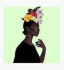 """Loza Maléombho"" Illustration Photographic Print"