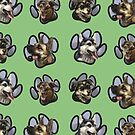 BVAS Van Paw Print Design (Dogs) by Alyssa May