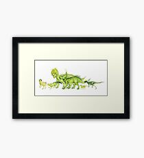 ceratopsians & co. Framed Print