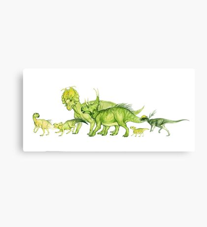 ceratopsians & co. Canvas Print