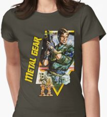 Metal Gear Womens Fitted T-Shirt