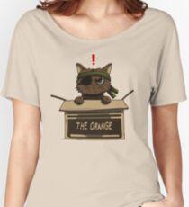 Miau-Zahnrad-Körper Baggyfit T-Shirt