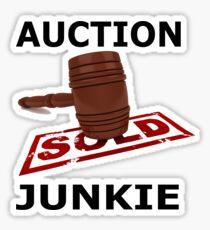 Auction Junkie  Sticker