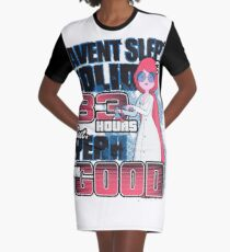 Sleepless in the Candy Kingdom Graphic T-Shirt Dress