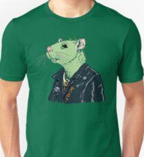 Rat Punk™ (Vile Green) Unisex T-Shirt