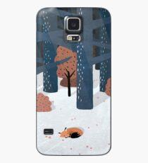 Funda/vinilo para Samsung Galaxy Dormido en el bosque