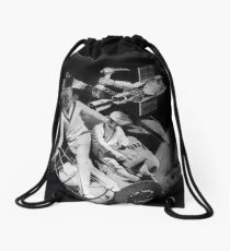 1000 Fathoms Above and Below. Drawstring Bag