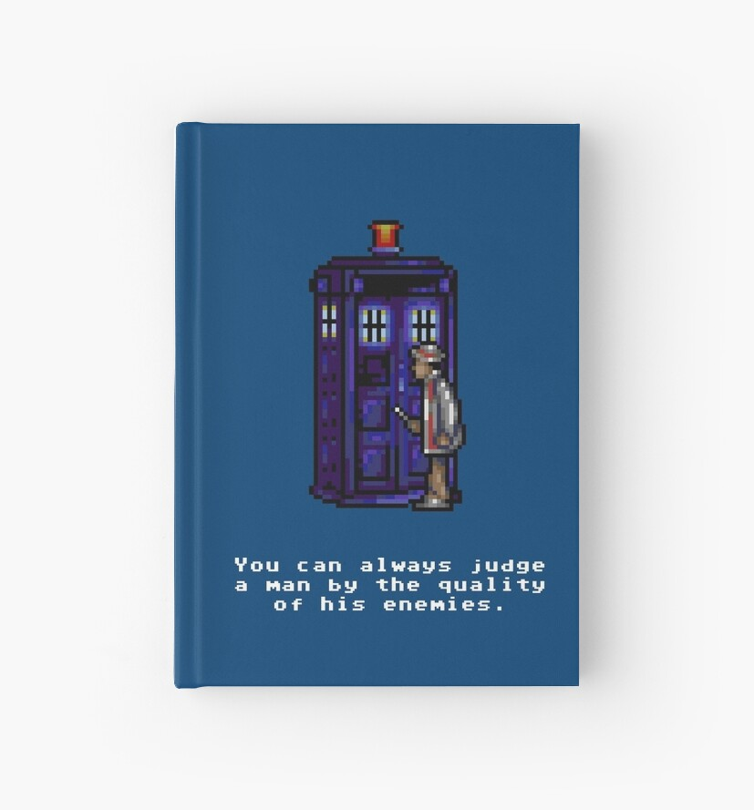 Time And Relative Pixels: Seventh Doctor by Riott Designs