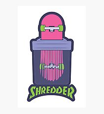 Shredder Photographic Print