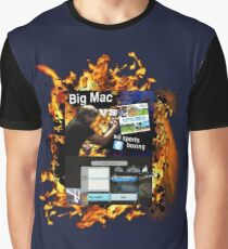 Big Mac vs Wii Sports Boxing Graphic T-Shirt