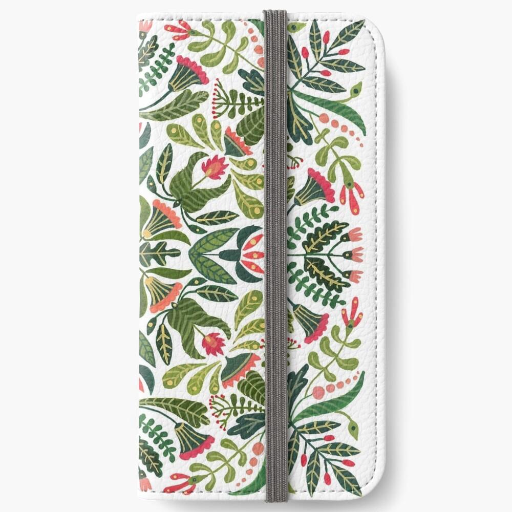 Kleines Rotkäppchen - Mandalamuster iPhone Flip-Case