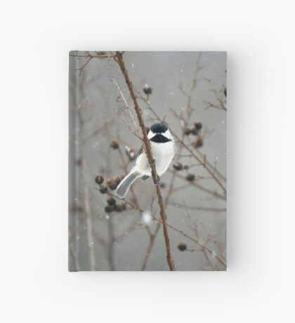 Chilly Chick-a-Dee Hardcover Journal