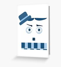 Chaplin Greeting Card
