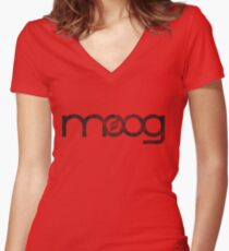 Moog (Vintage) Women's Fitted V-Neck T-Shirt