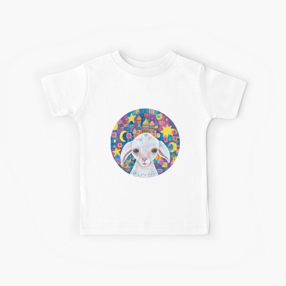 Priscilla, princesa del castillo de Baa Camiseta para niños