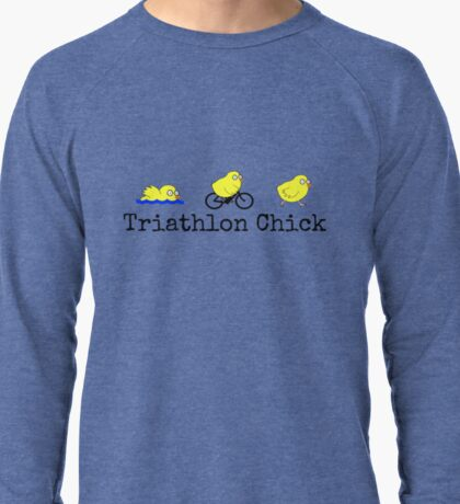 Triathlon Chick Lightweight Sweatshirt