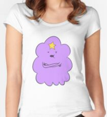 Adventure Time - Lumpy Space Princess Women's Fitted Scoop T-Shirt