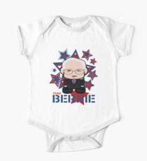 Team Bernie Politico'bot Toy Robot Short Sleeve Baby One-Piece