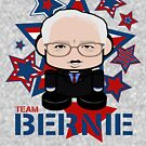 Team Bernie Politico'bot Toy Robot by Carbon-Fibre Media