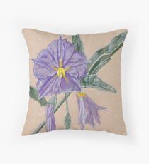 Solanum Throw Pillow