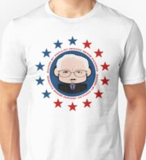 Backed by Populist Demand: Bernie'bot 2.0 Slim Fit T-Shirt