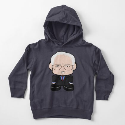 Bernie'bot Politico'bot Toy Robot Toddler Pullover Hoodie