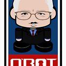 Bernie'bot Politico'bot Toy Robot 2.0 by Carbon-Fibre Media