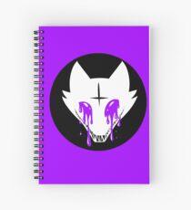 Cuaderno de espiral Pastel Goth Fox