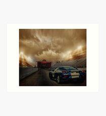Race Time Art Print
