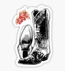 Wicked Boots Sticker