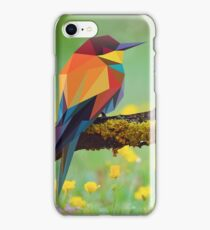 Bird Vector Painting iPhone Case/Skin